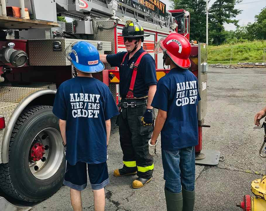Albany Fire Department Outreach